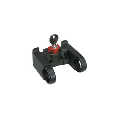 Fixation KLICKfix à clé pour guidon de vélo (Standard Ø 22-26mm)