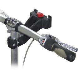 Fixation KLICKfix pour tube potence vélo (Ø 22,2-25,4mm)