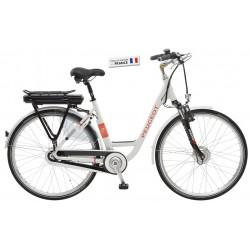 """Vélo électrique Peugeot EC03-100 - 36V 8.8 à 14.5 Ah Mixte 28"""""""