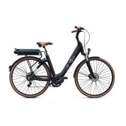 """Vélo électrique O2FEEL Swan 26"""" - Deore 9 Black"""