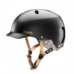 Casque BERN Lenox Black Satin