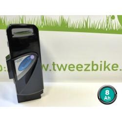 Batterie Panasonic 26V 8Ah NOIRE pour vélos électriques GITANE ou Peugeot
