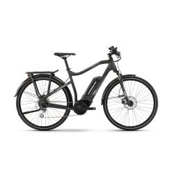 Vélo électrique Haibike Sduro Trekking 1.0 Bosch Active + 400Wh Acera 8 - 2019