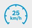 unité motrice 25 km/h