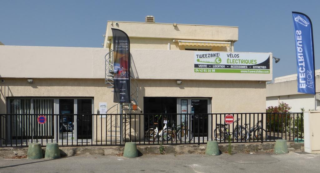 Facade magasin Tweezbike