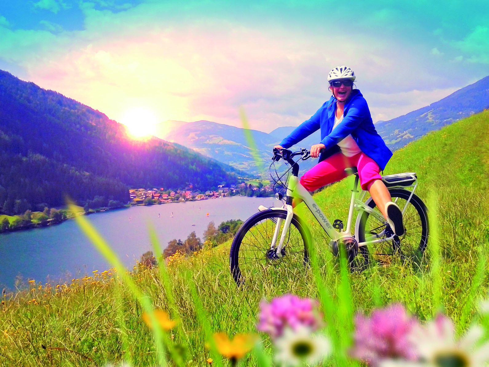 Un vélo electrique sport