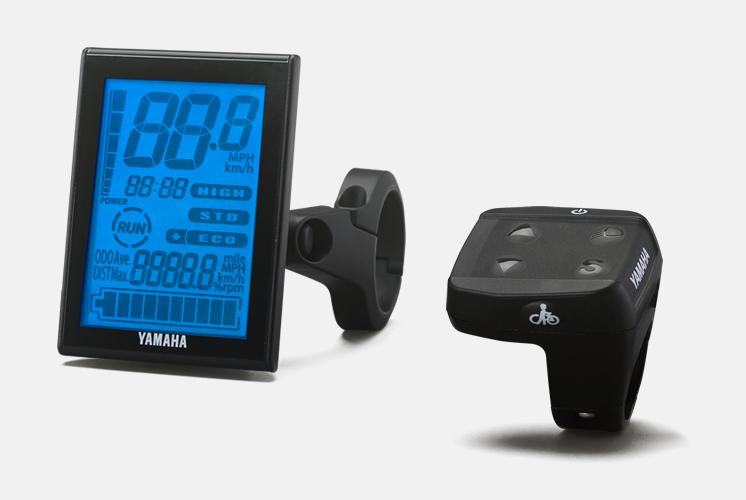 display LCD yamaha